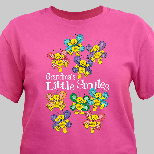 Little Smiles Personalized T-Shirt | Mommy T-Shirts