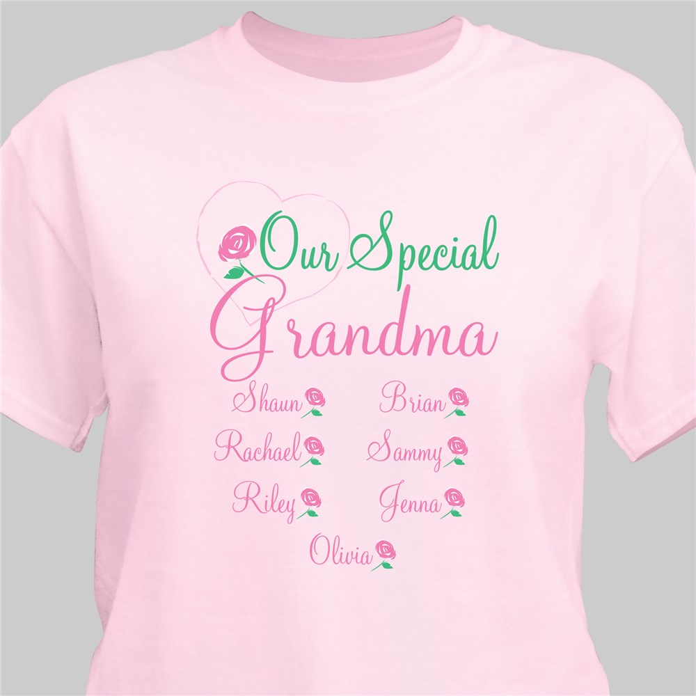 Personalized Mother's Day T-shirt Our Special Mom | Mother's Day Personalized Gifts