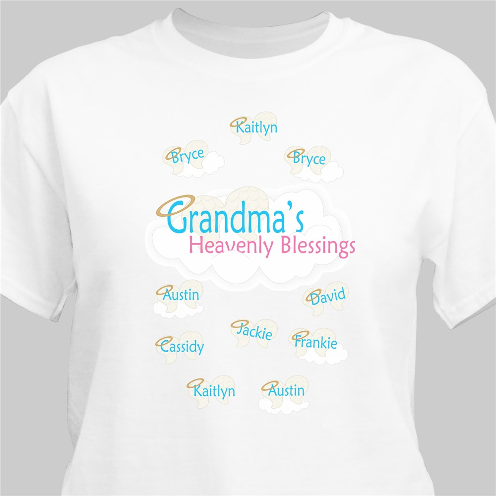 Heavenly Blessings Personalized T-Shirt | Personalized T-shirts