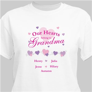 Our Hearts Belong To T-Shirt | Mommy T-Shirts
