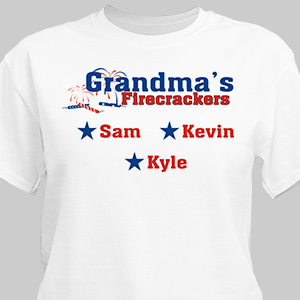 Firecrackers Personalized T-Shirt