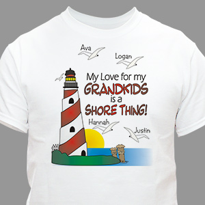 It's A Shore Thing Personalized T-shirt | Personalized T-shirts