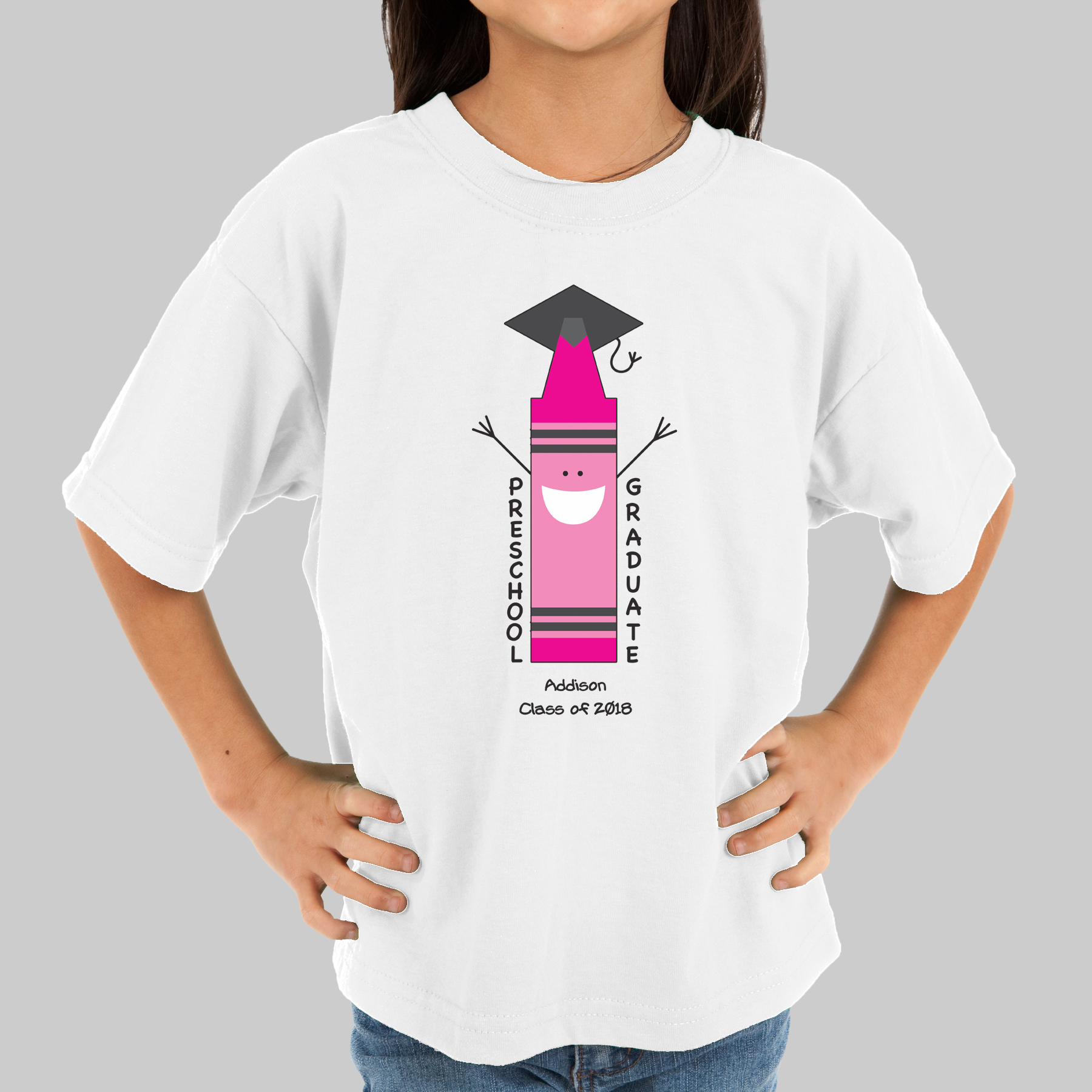 Personalized Preschool Graduation T-Shirt 35865X