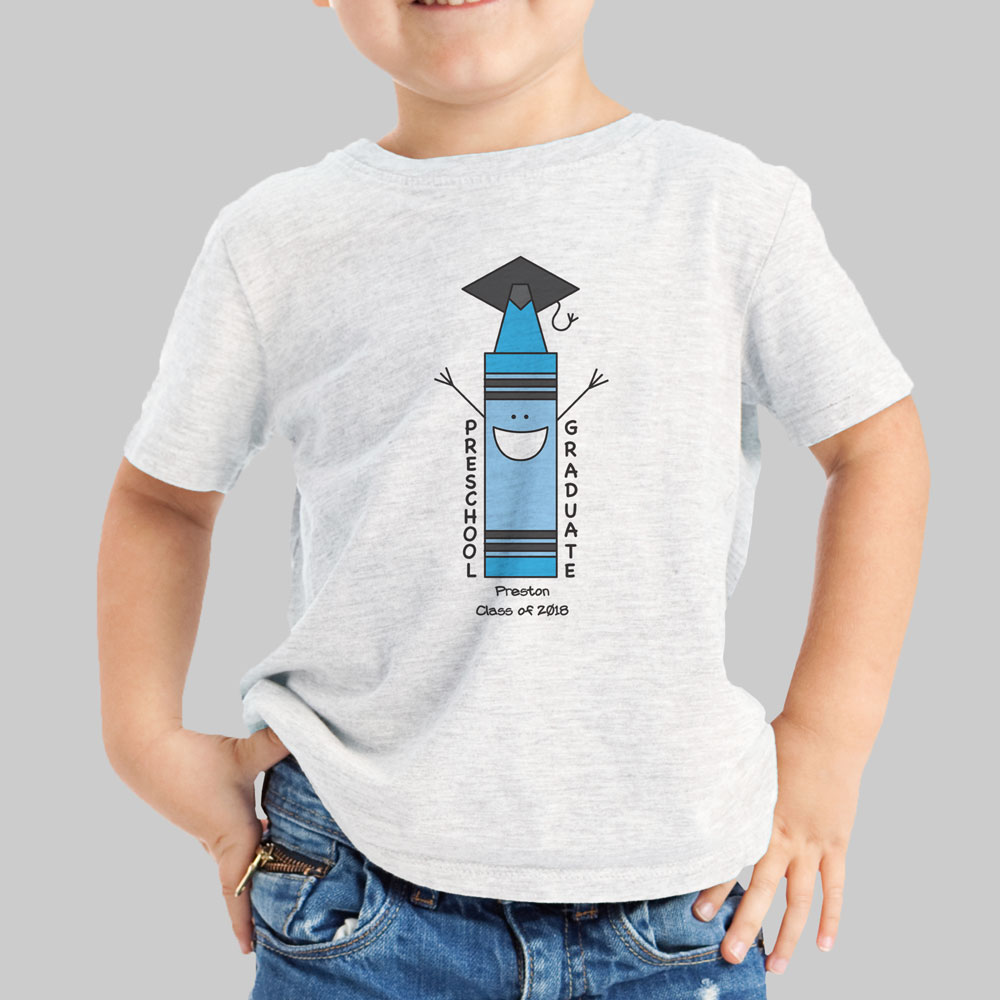 Personalized Preschool Graduation T-Shirt | Graduation Gifts