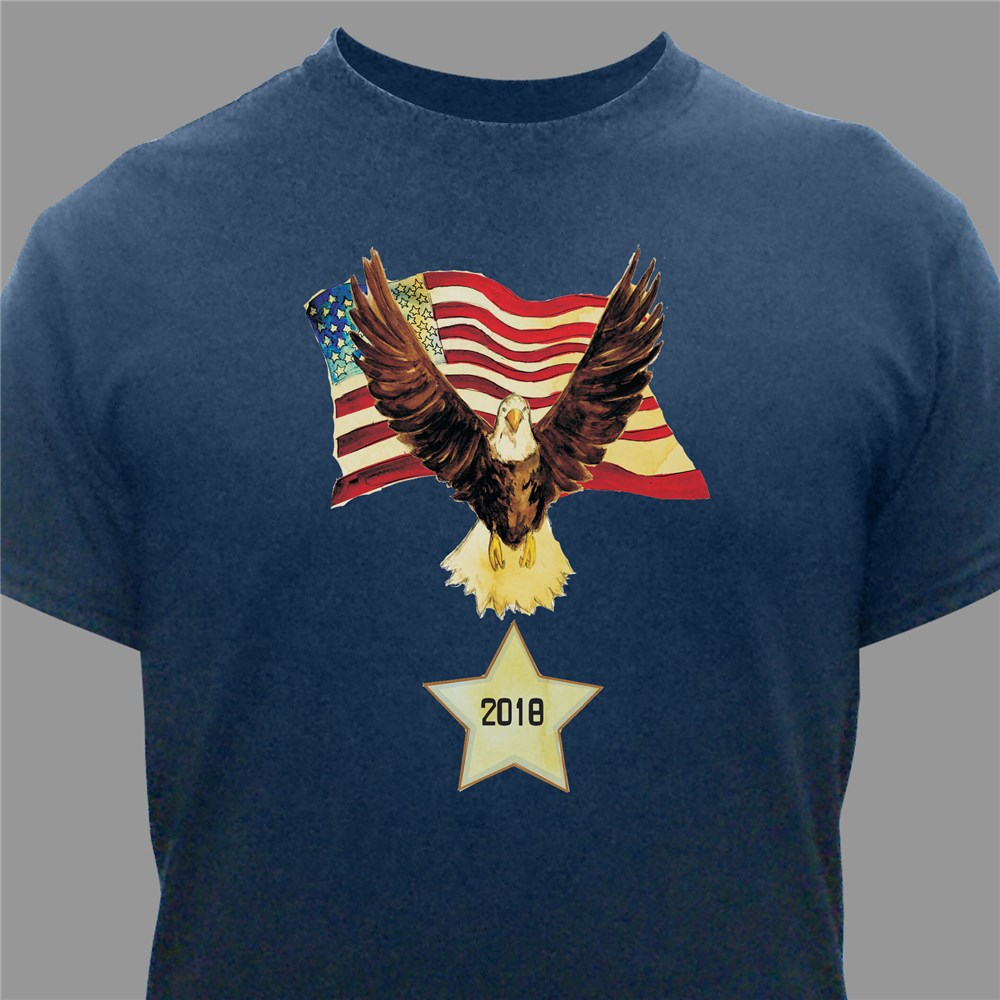 Personalized American Eagle T-Shirt | Personalized T-shirts