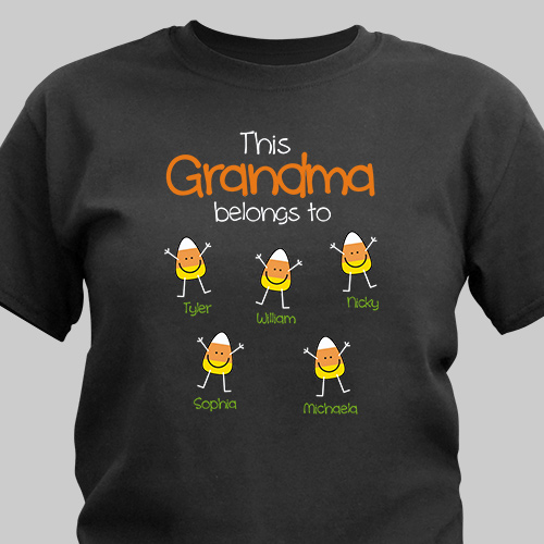 Personalized Belongs To T-Shirt | Personalized Halloween Shirts