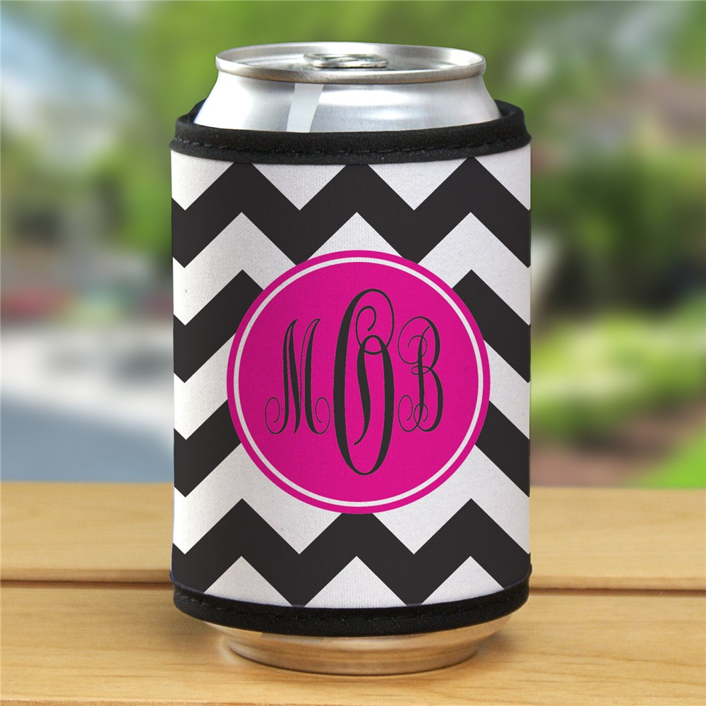 Monogram Madness Can Wrap | Personalized Wedding Favors