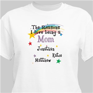 Reason I Love Personalized T-Shirt | Personalized T-shirts