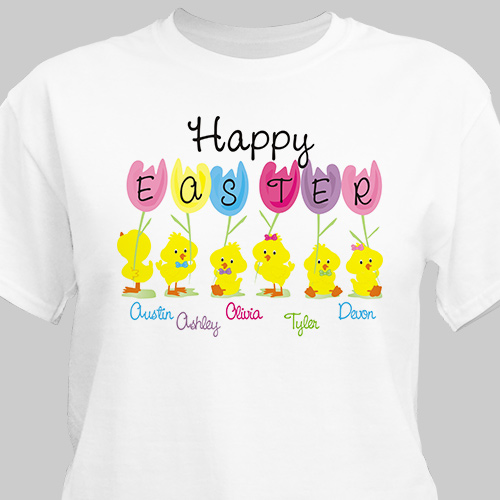 Happy Easter T-Shirt | Easter Shirts For Adults