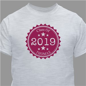 Personalized Graduation T-Shirt | Personalized T-shirts