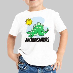 Nameosaurus Personalized Youth T-Shirt