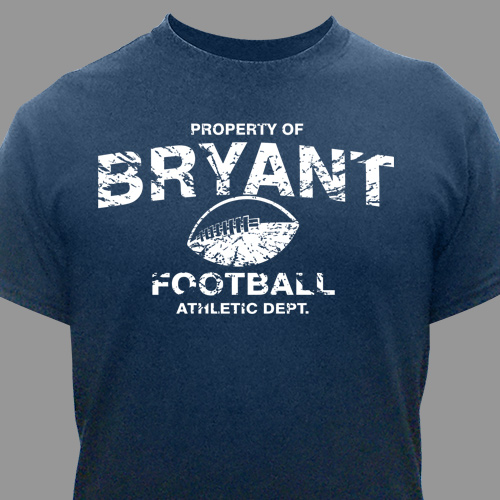 Personalized Property Of Sports T-Shirt | Personalized T-shirts