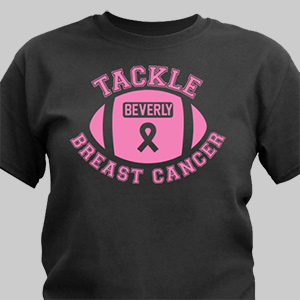 Breast Cancer Personalized T-Shirt 37875X
