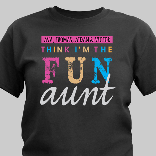 Personalized I'm the Fun One T-Shirt 37238X