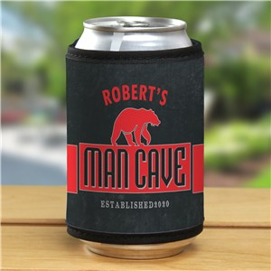Personalized Man Cave Can Wrap 372489