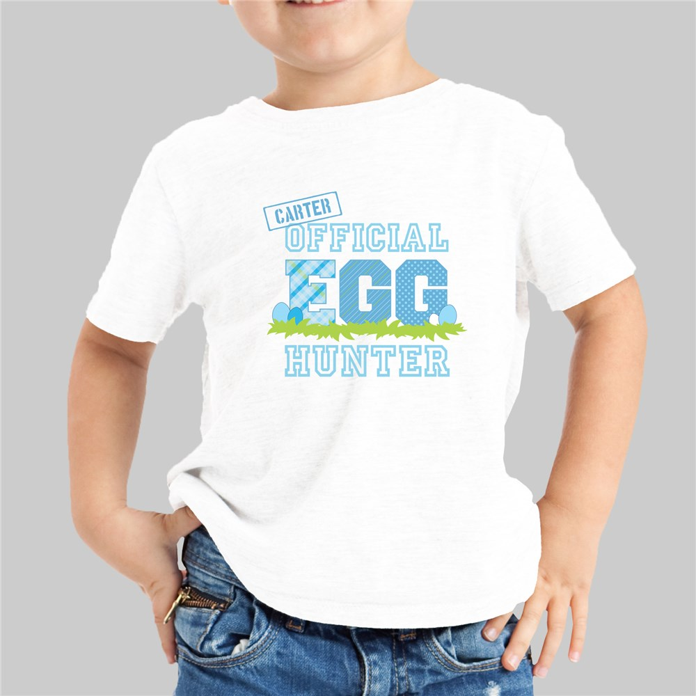 Personalized Official Egg Hunter T-Shirt | Personalized Easter TShirts