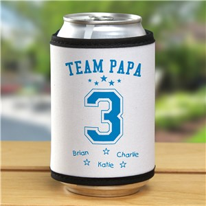 Personalized Team Dad Can Wrap |  Personalized Grandpa Gifts