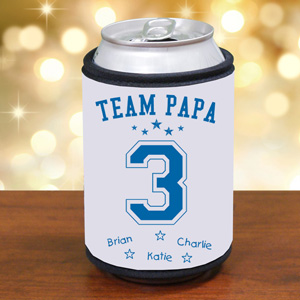 Personalized Team Dad Can Wrap