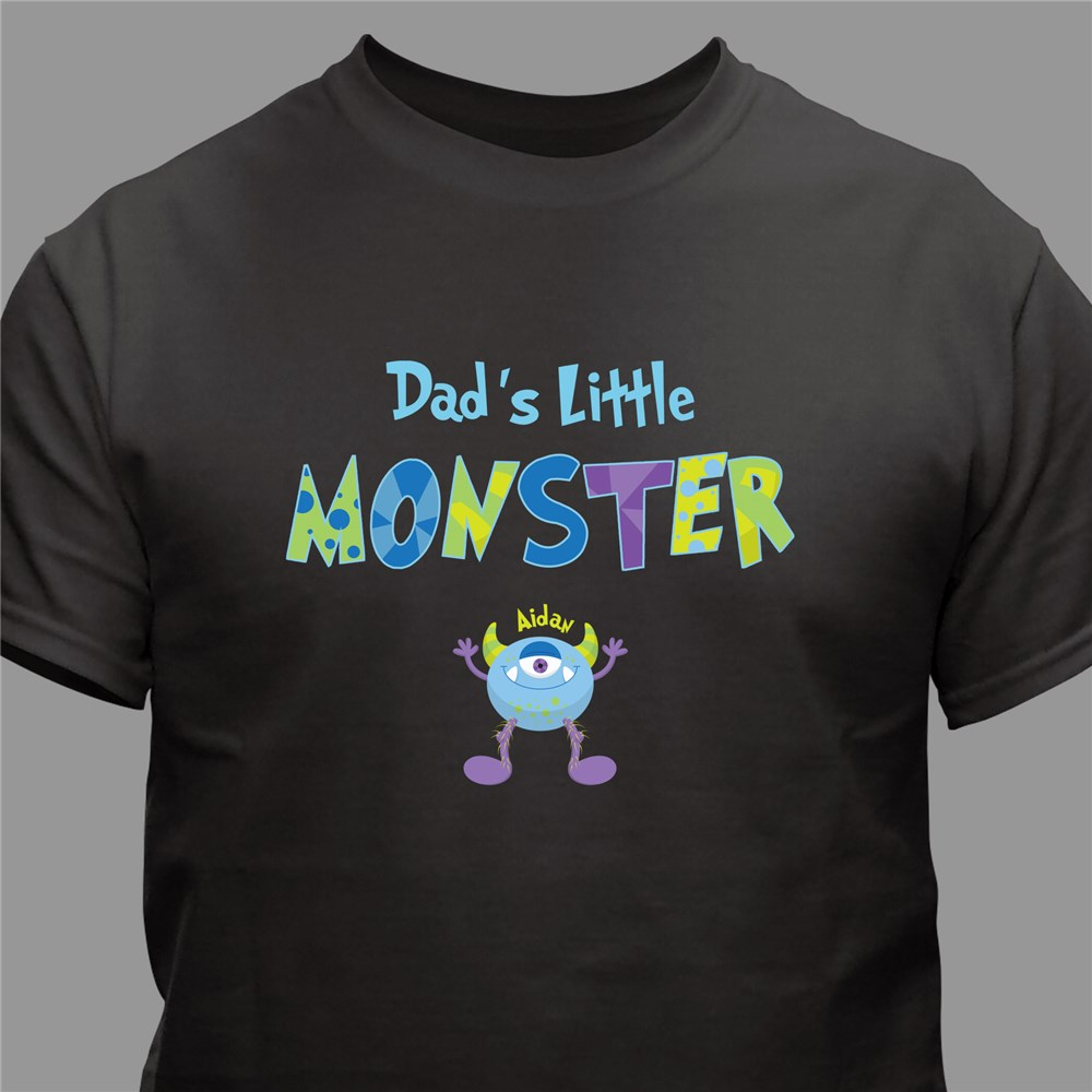 Personalized Little Monsters T-Shirt | Personalized Dad Shirts