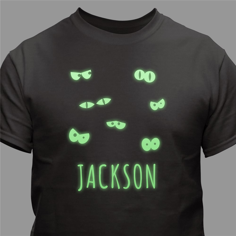 Glow In The Dark Halloween T-Shirt | Personalized Halloween Shirts