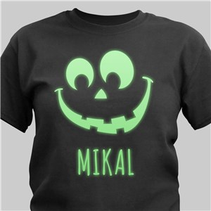 Halloween Glow In The Dark T-Shirt | Personalized Halloween Shirts