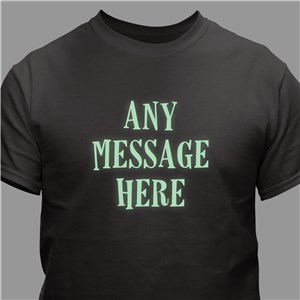 Custom Glow In The Dark T-Shirt | Personalized Halloween Shirts