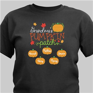 Pumpkin Patch T-Shirt | Personalized Halloween Shirts