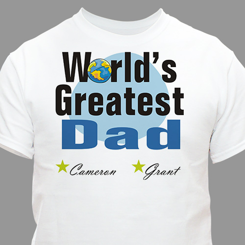 World's Greatest T-Shirt | Personalized T-shirts