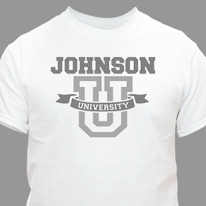 University T-Shirt | Family Vacation Shirts | Dad Shirts