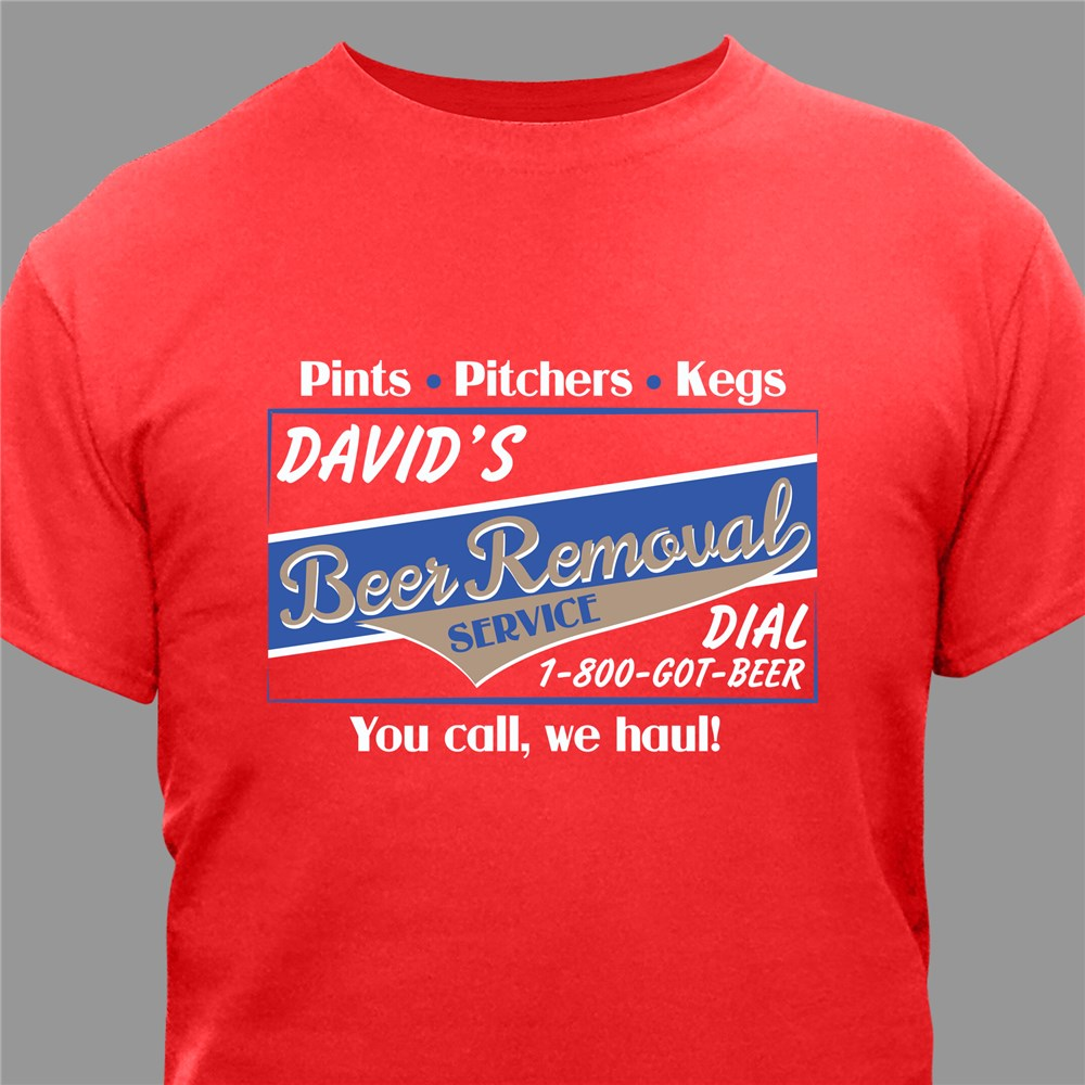 Beer Removal T-Shirt | Fathers Day Shirts