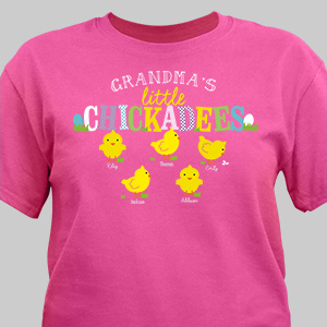 Custom Printed Easter T-Shirt | Personalized Easter Present