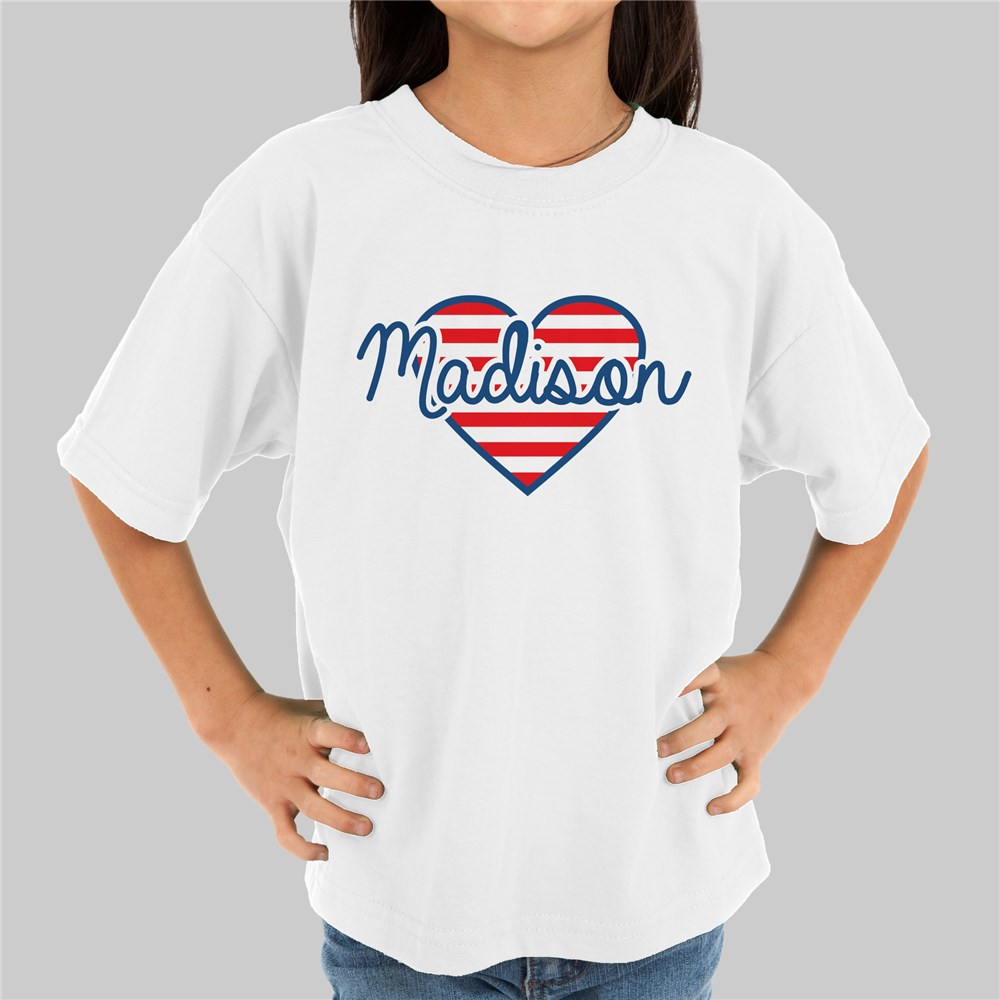 Patriotic Heart Youth T-Shirt 39522X