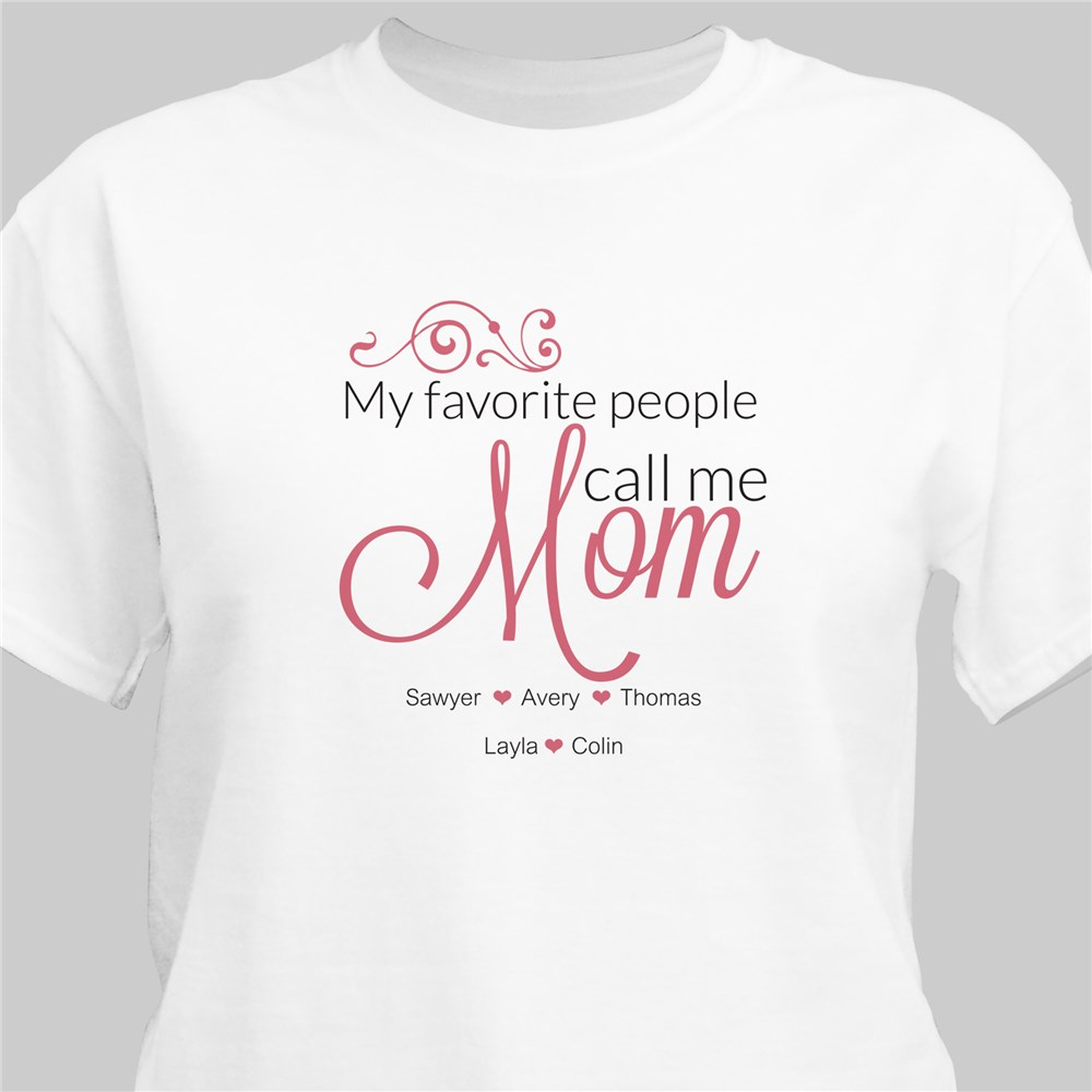 Nana T-Shirt | Personalized Gifts For Grandparents