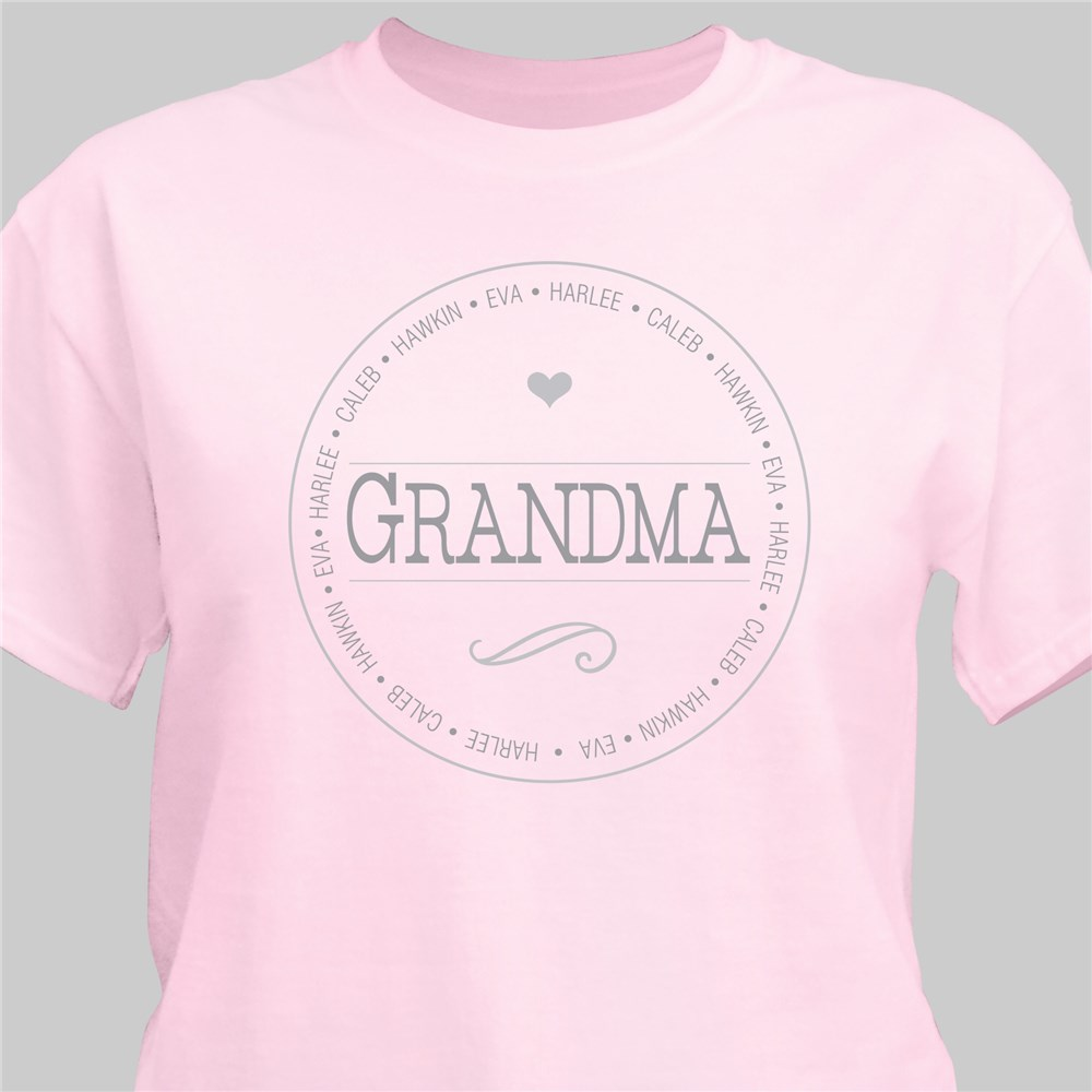 Personalized Name T-Shirt for Her | Personalized Shirts