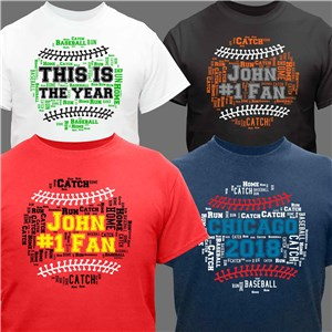 Football Word-Art T-Shirt | Dad Shirt