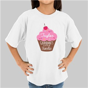 Personalized Little Sweetie Kids Tshirt | Valentines Day Gifts For Kids