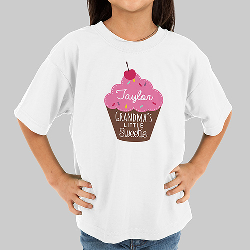 Personalized Little Sweetie Kids Tshirt 39983X