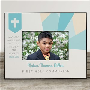 Personalized First Communion Frame | Personalized Picture Frames