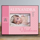 Personalized Initial Baby Photo Frame