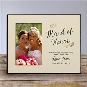Personalized Bridesmaid Frame | Bridesmaid Picture Frames