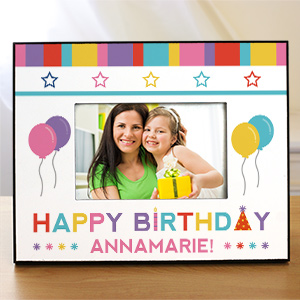 Personalized Happy Birthday Picture Frame | Personalized Picture Frames