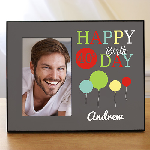 Personalized Birthday Picture Frame | Personalized Picture Frames