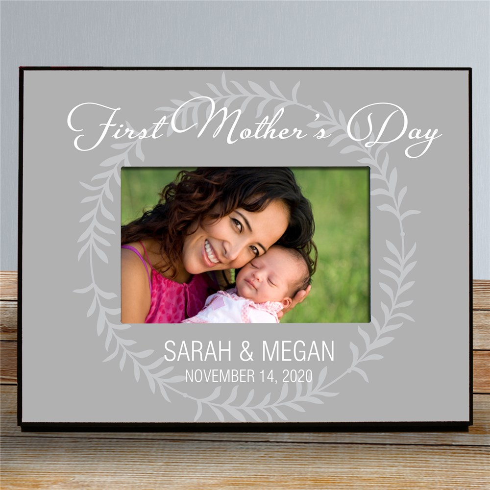 Personalized First Mother's Day Printed Picture Frame | Mother's Day Picture Frames