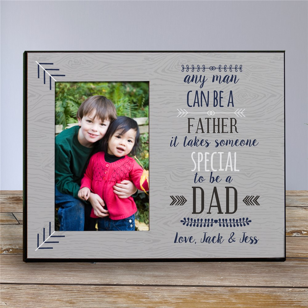 Personalized Any Man Printed Frame | Daddy Picture Frames