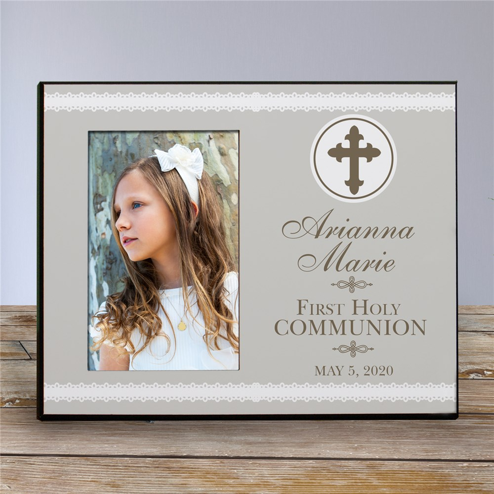Personalized First Holy Communion Frame | First Communion Gifts