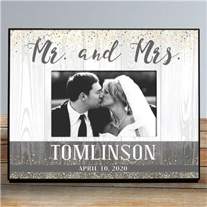 Personalized Wedding Confetti Frame | Personalized Wedding Frames