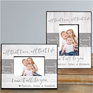 Personalized Mother's Day Frames | Picture Frame Gift