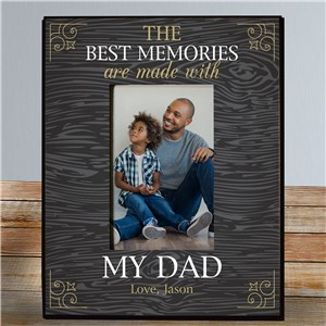 Personalized Father's Day Frames | Keepsake Picture Frames