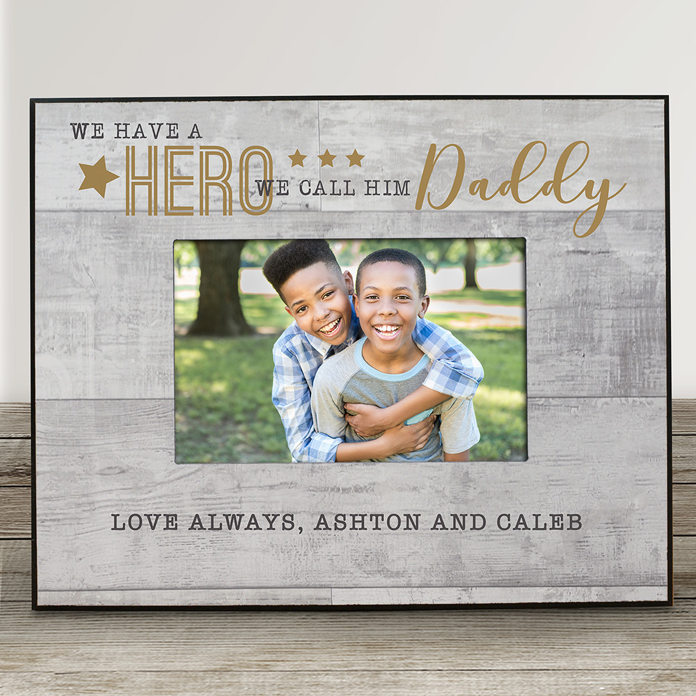 Personalized Father's Day Gifts | My Dad Is My Hero 2019
