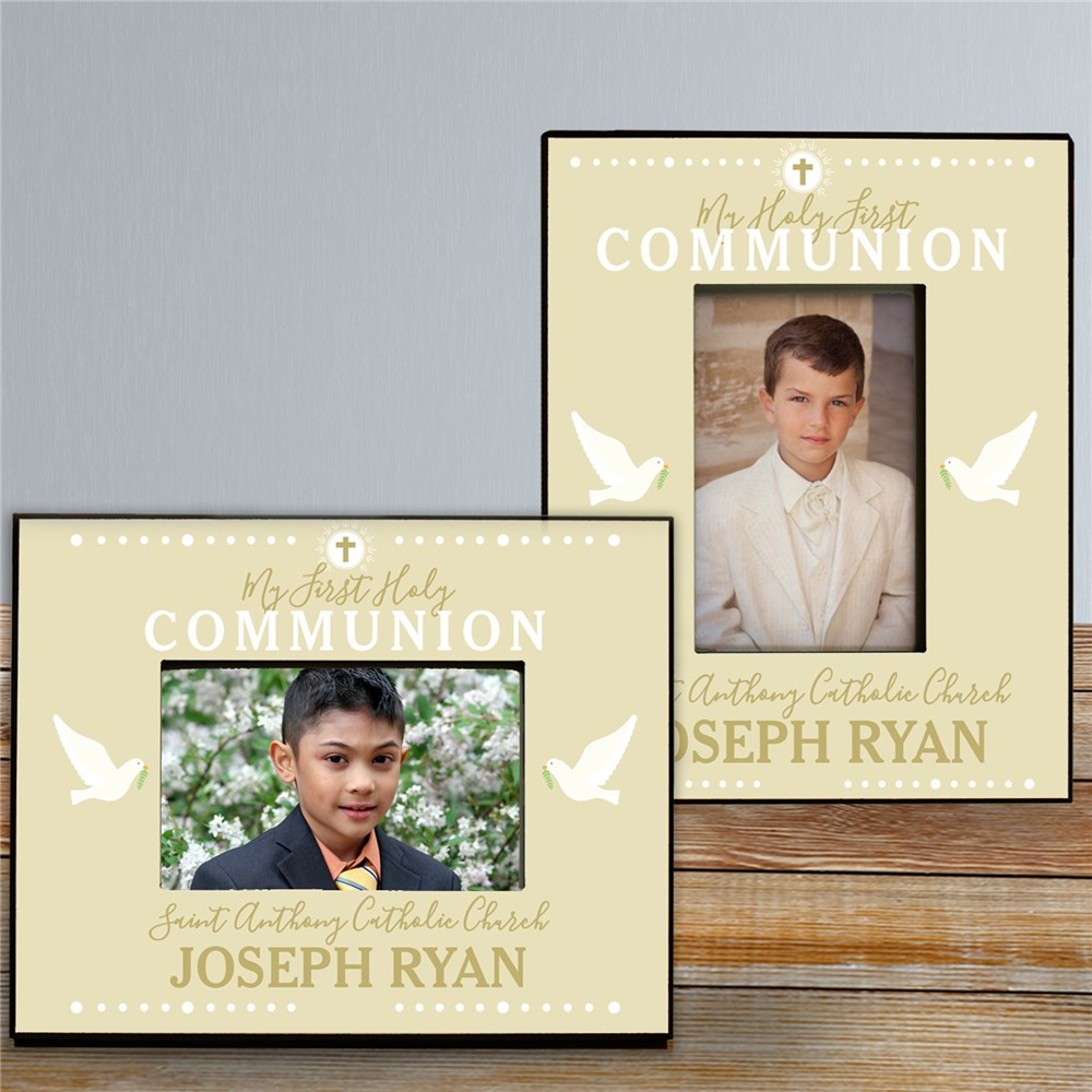 Picture Frame For Communion | First Communion Gifts For Boys and Girls
